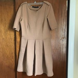 Zara dress heavyweight fabric